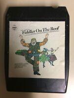 Old Rare Vintage Fiddler On The Roof 8 Track Music Soundtrack