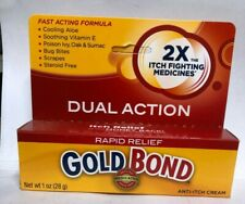 Gold Bond Rapid Relief Anti-Itch Cream 2X itch fighting 1 oz