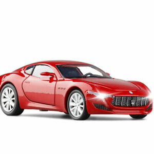 1/32 Maserati Alfieri Model Car Alloy Diecast Toy Vehicle Collection Gift Red