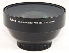 Nikon Wide Converter WC-E80 0.8x + UR-E8