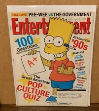 2004 April 9 Entertainment Weekly Magazine BART SIMPSON Great Cover Story & Ads