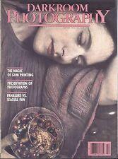 Darkroom Photography Magazine Oct 1987 Gum Printing Preservation Gralab Timers
