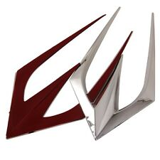 Car Hood Side Flow Vent Fender Air Net Door Decals Sticker Exterior Accessory