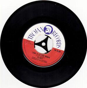 Dandy (LIVINSTONE)–Take A Letter Maria Trojan Reggae TR 7800  VINYL 45 1970