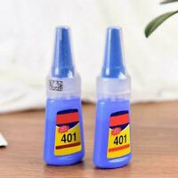 401 Multi-Purpose Super Glue Mighty Instant Adhesive Craft Bottle For DIY T2W0