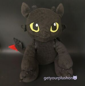 HOW TO TRAIN YOUR DRAGON TOOTHLESS BUILD-A-BEAR WORKSHOP LIMITED EDITION PLUSH#2
