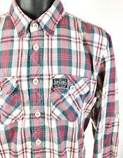 Superdry Co. Japan Men's Size Small Lumberjack Button Down Shirt