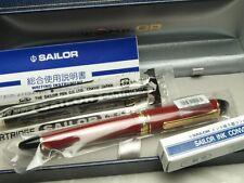 Sailor Profit Color 1019 / Red 14K Medium-nib with converter 11-1201-430