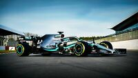 Mercedes-AMG F1 W10 EQ Power 2019 Car Auto Art Silk Wall Poster Print 24x36""
