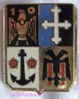 IN10169 - INSIGNE 10° Régiment du Génie, dos guilloché