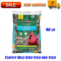 Pennington Classic Wild Bird Feed & Seed, 40 lb bag, Great to feed year-round
