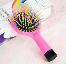 Rainbow S-curl Air Volume Brush With Back Mirror-Pink