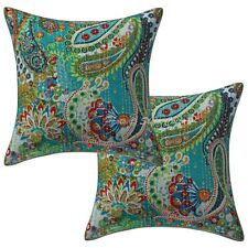 """Home Deccorative Cushion Cover Indian Handmade Cotton Pillow Case Cover 16"""""""