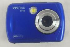 Vivitar ViviCam S048 Waterproof Digital Camera Blue 16MP 5x Zoom