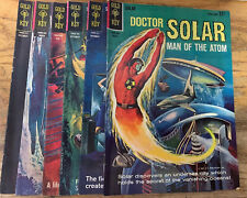 COMIC BOOK BLOWOUT: Gold Key DOCTOR SOLAR MAN OF THE ATOM LOT Issues 2-7 FBC-34