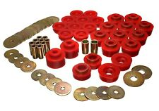 Energy Suspension Body Mount Set Red for 81-87 Regal # 3.4141R