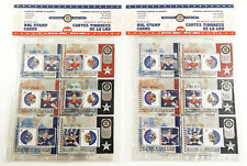 (2) 2002 NHL Official Stamp Cards Series 3 Set (6) Lafleur Horton Esposito