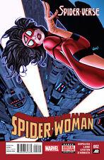 SPIDER-WOMAN #2 1ST PRINTING SPIDER-VERSE TIE-IN CINDY MOON SILK JESSICA DREW