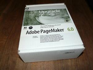Adobe PageMaker 6.0 englische Upgradeversion für Mac Rarität