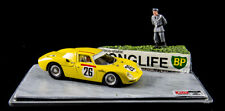 Best Ferrari 250LM #26 - Spoerry / Boller - 2nd Le Mans 1965 - Diorama 1/43