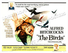 THE BIRDS LOBBY CARD POSTER HS 1963 TIPPI HEDREN ROD TAYLOR ALFRED HITCHCOCK