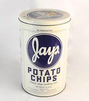 1986 Jays Potato Chip Advertising Tin