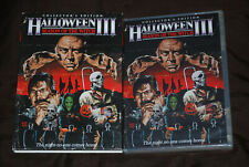 Halloween III - Season of the Witch - OOP R1 Scream Shout! Factory & Slip Cover