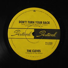 CLEVES: Sticks And Stones / Don't Turn Your Back 45 (Australia) Rock & Pop