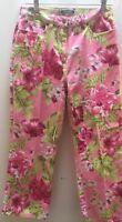 Van Heusen Pants Womens Stretch Jeans Size 8 floral