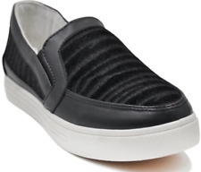 Tanggo Jeny Fashion Sneakers Slip-On Shoes Animal Print design (black)