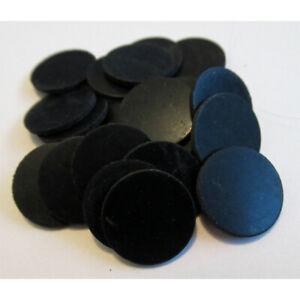 100 x Round Rubber Discs 14.6mm Dia x 1.0mm thick Rubber Spacers Rubber Feet