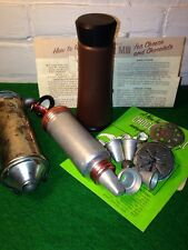 THREE LITTLE VINTAGE COOKIE GUNS AND A CHOCOLATE MILL MID-CENTURY WITH DIRECTION