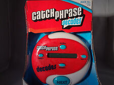 Catch Phrase Decades Game Handheld Hasbro Gaming NEW Party Free Shipping NIP