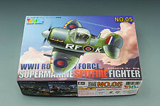 Tiger Model 105 WWII Royal Air Force Supermarine Spitfire Fighter [Cute Series]
