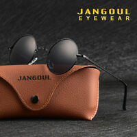 Round Polarized Sunglasses Hippie Retro Vintage John Lennon Sunglasses Eyewear 1