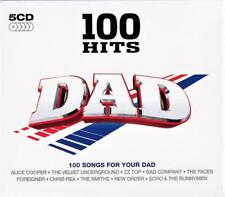 100 HITS - DAD - VARIOUS ARTISTS (NEW SEALED 5CD )