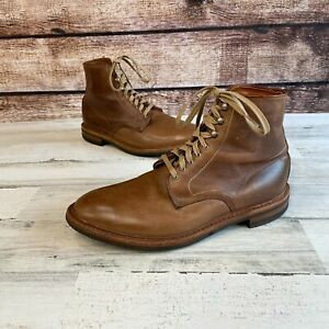 Allen Edmonds Higgins Mill Boots 9.5 E Chromexcel Leather Brown USA