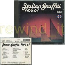 ITALIAN GRAFFITI 1966/67 RARO CD 1989 RCA - LUCIO DALLA I CORVI THE ROKES MINA
