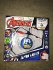 WorldTech 33194 Marvel Captain America Flying UFO Ball Helicopter - New