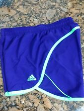 Adidas Purple Green Running Athletic Shorts Size XS Z9