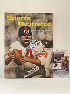 YA TITTLE Hand Signed SPORTS ILLUSTRATED Magazine Nov 20, 1961 HOF JSA Cert