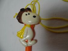 Vintage Snoopy Lanyard Marker United Features Syndicates INC