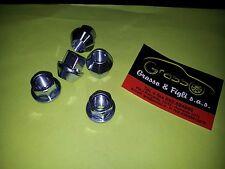 x1 Dado Ruota per auto aperto conico M 12x1,25 chiave 17 H 23 in acciaio 10.9