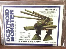 Macross Robotech Destroid Monster Paper Model Non-scale New Authentic SUPER RARE