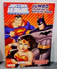 Justice League Unlimited Jumbo Coloring And Activity About 100 Pages Of Fun New