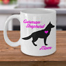 German Shepherd Mug - German Shepherd Mom - Cute Coffee Cup For GSD Dog Lovers
