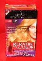 Schwarzkopf Keratin Color Permanent Anti-Age Hair Color ~ 8.0 Silky Blonde ~1ea