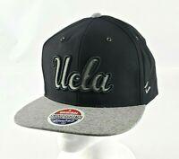 UCLA Bruins Zephyr Black Flat Bill Original Snapback Adult Hat/Cap NEW
