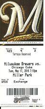 Milwaukee Brewers Chicago Cubs 5/17/2016 Kris Bryant Jason Heyward Lucroy HR !!