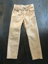Boy'S Levi'S 511 Slim Khaki Jeans Size 6 Regular, Adjustable Waist!